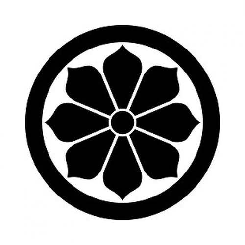 丸に変わり八つ菊 aiデータ