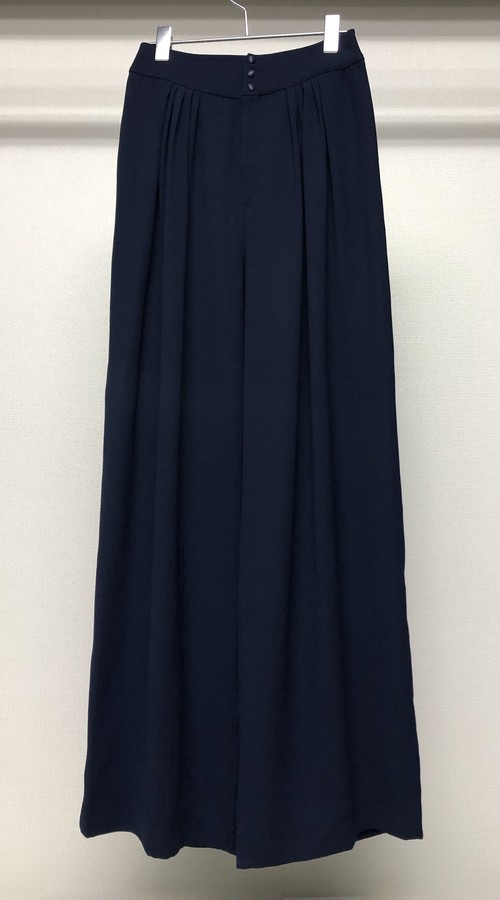 1990s THIERRY MUGLER WIDE LEG TROUSERS