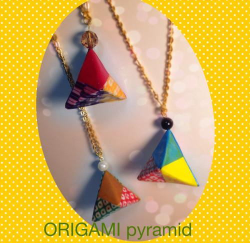 ORIGAMI pyramid ネックレス [ORIGAMIシリーズ] ラセンコーバオリジナル