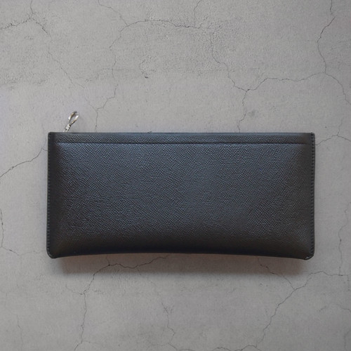 Aeta BIG LONG WALLET BLACK/SILVER