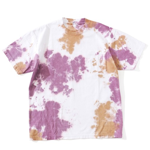 IFNi COFFEE DYE S/S T-SHIRT [ PURPLE ]