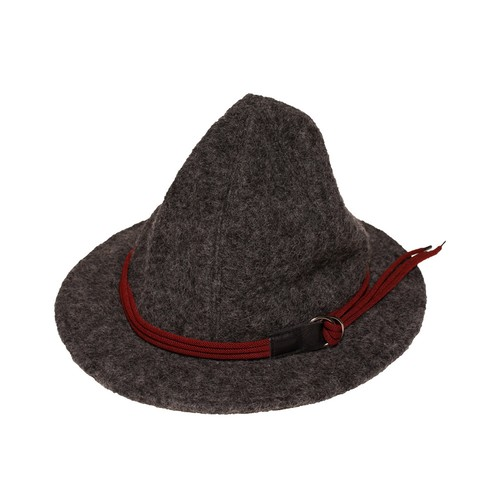 Enharmonic TAVERN x CA4LA Cord Belt Sliver knit Hat -charcoal <LSD-AH3AC1>