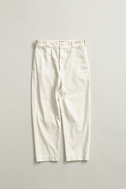 クロップドパンツ / CROPPED PANT - HERRINGBONE