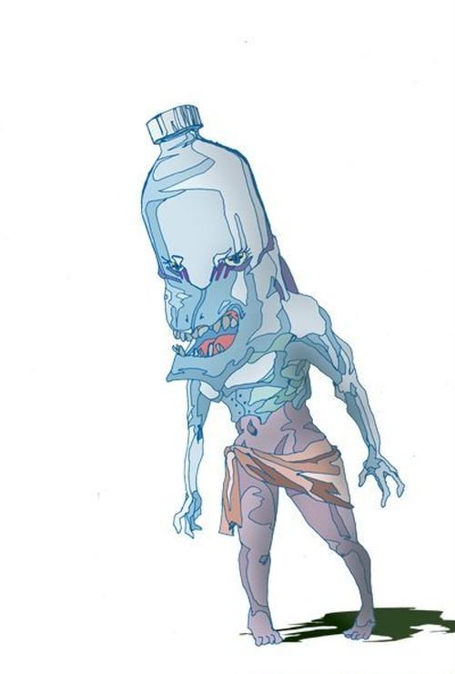 妖怪8・ペットボトル
