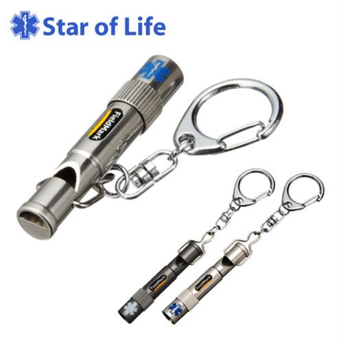2827-28 2827-29 Star of Life スターオブライフ エクオス LED付き緊急用ホイッスル 登山
