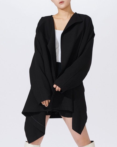 OVER SIZE DRAPE JACKET