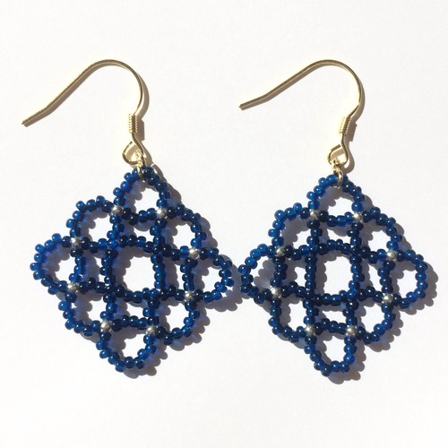 Beads Knit Pierce/Earrings