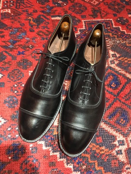 .ALLEN EDMONDS PARK AVENUE LEATHER STRAIGHT TIP SHOES MADE IN USA/アレンエドモンズレザーストレートチップシューズ 2000000042329