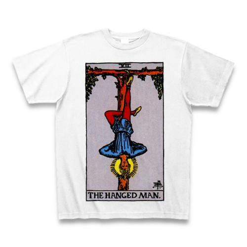 「12吊るされた男」タロットTシャツ