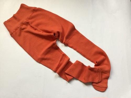 "MAISON EUREKA "" STRETCH THERMAL TIGHTS PANTS "" ORANGE"