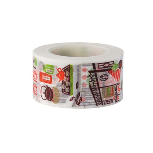 【 來趣東北角 】 マスキングテープ  レトロ台湾旅行 茶樓