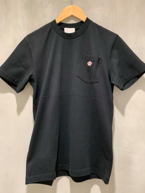 soglia - pocket tee - black