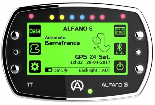 ALFANO6-1T 本体 標準セット アルファノ6-GPS内蔵 データーロガー