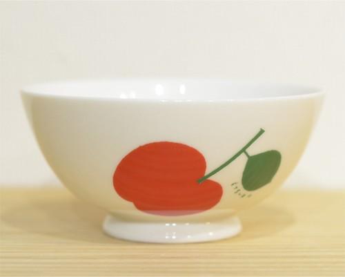 鈴木悦郎 茶碗 リンゴ