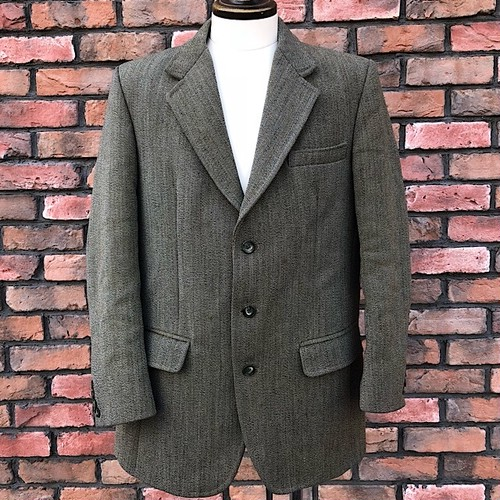 1970s Keepers Tweed Jacket Made in England  16a