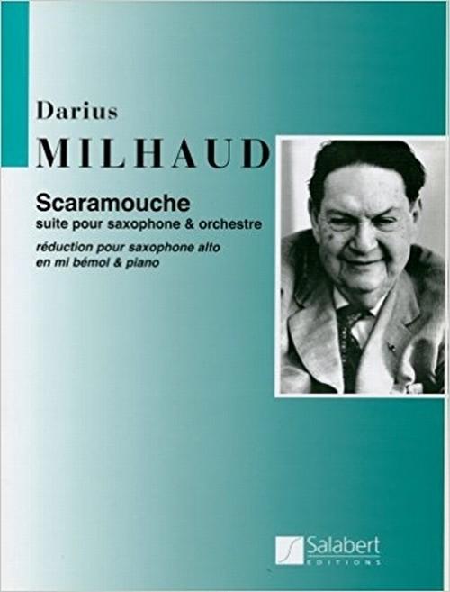 ミヨー:スカラムーシュ  / アルトサクソフォーン・ピアノ