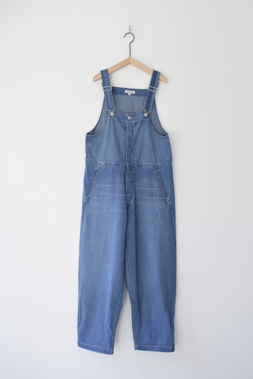 【ORDINARY FITS】DUKE OVERALL DENIM used/OF-O013