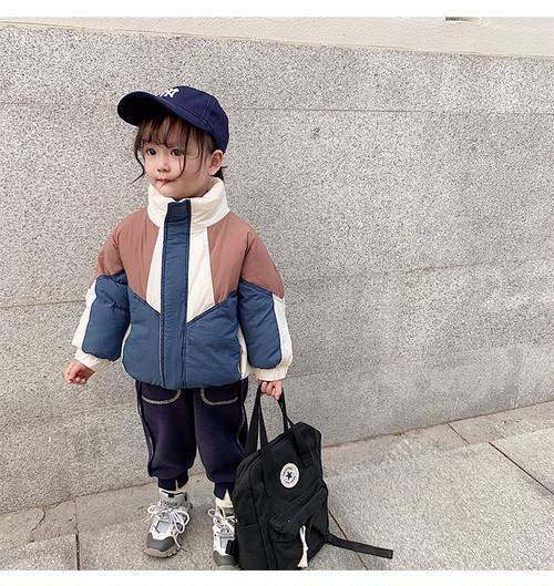 【予約】ユニセックストリコカラー中綿ジャケット