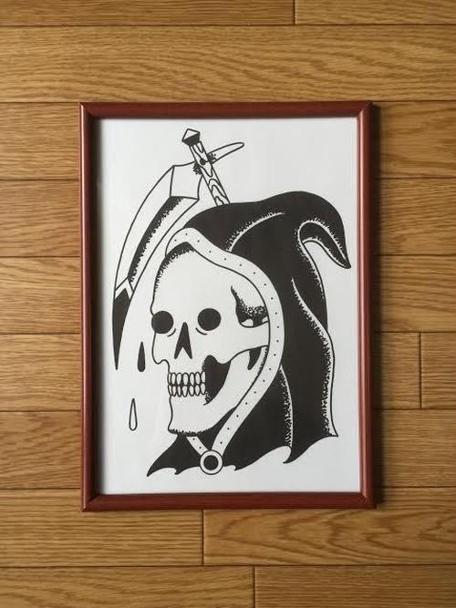 アートプリント A4サイズ Reaper