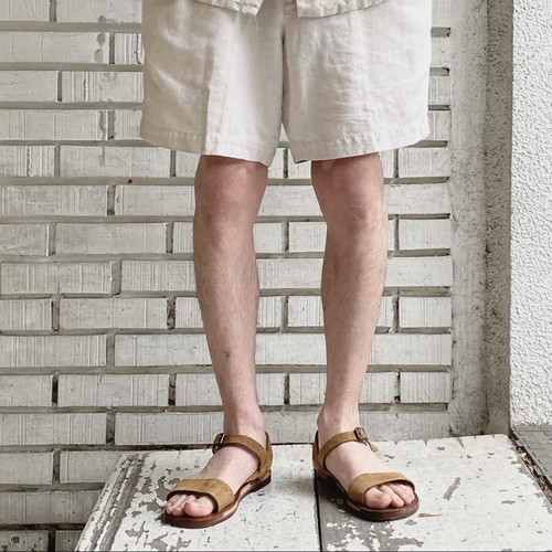 USED PERRY ELLIS COTTON LINEN SHORTS