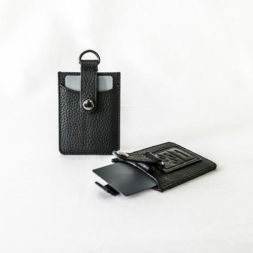 本革カードケース 名刺入れ プルアップ式 Card Holder All Leather