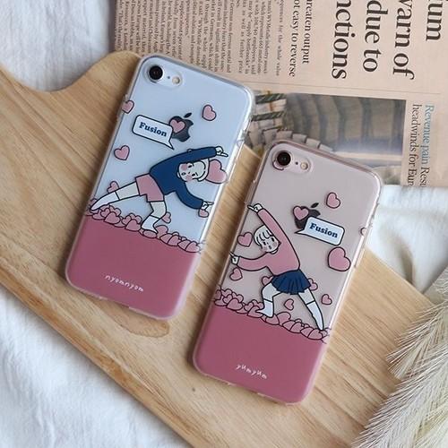 fusion phone case / ヒュージョン スマホケース iphone galaxy LG ペア 韓国雑貨