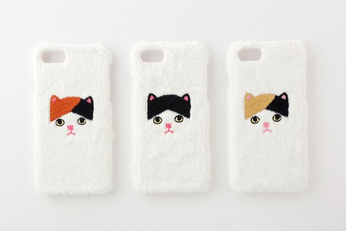 【iPhone7専用】三毛ネコiPhoneハードケース