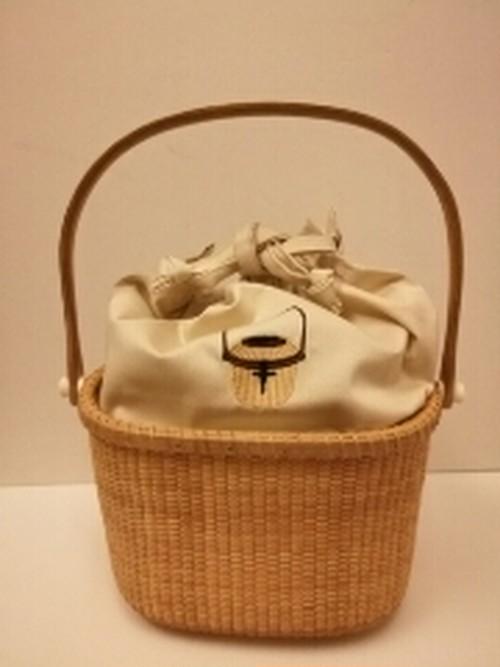 ナンタケットバスケット刺繍・インナーバッグ(7・8・9インチ用)