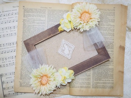 antique photo frame ①
