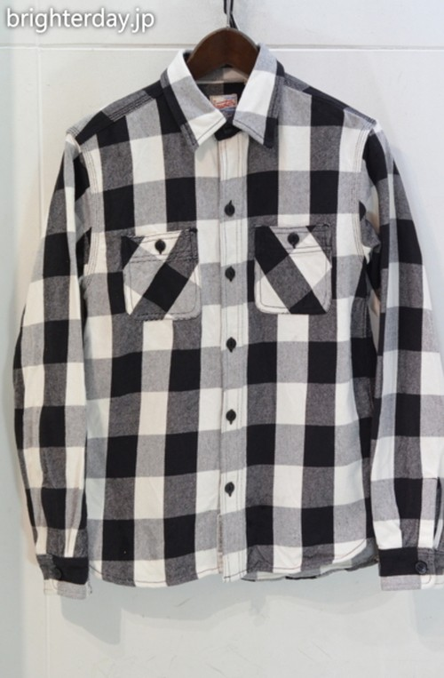 HOUSTON チェックシャツ