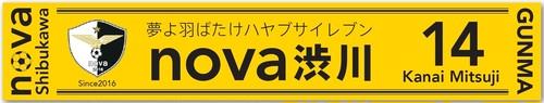 nova渋川 応援マフラータオルG