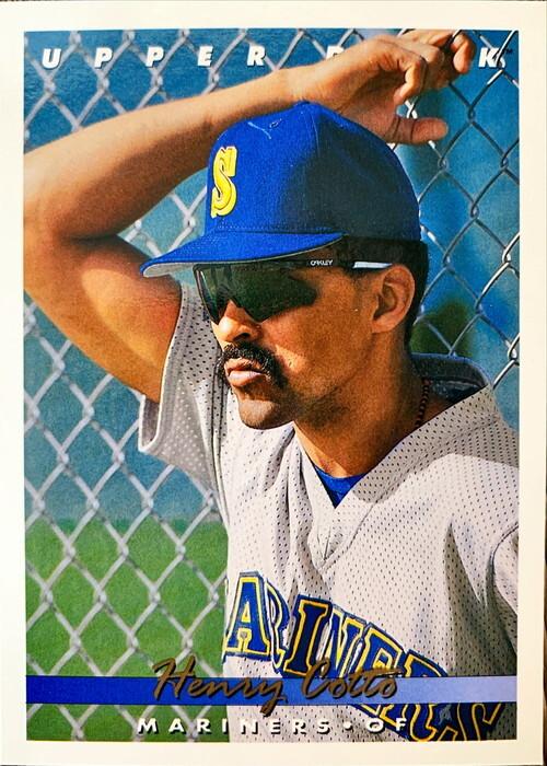 MLBカード 93UPPERDECK Henry Cotto #411 MARINERS