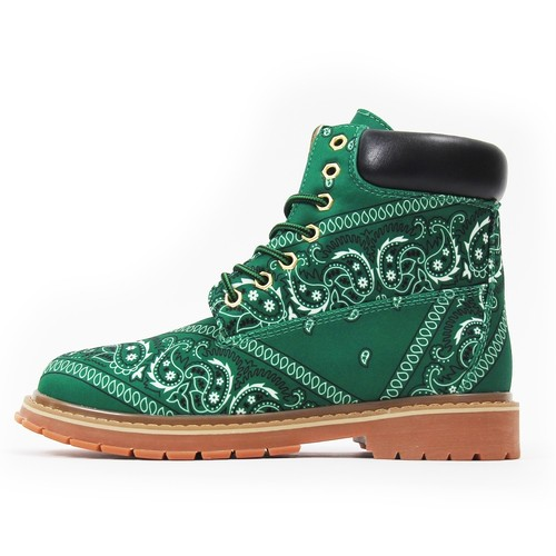NOT FOR SALE Paisley Boots GREEN