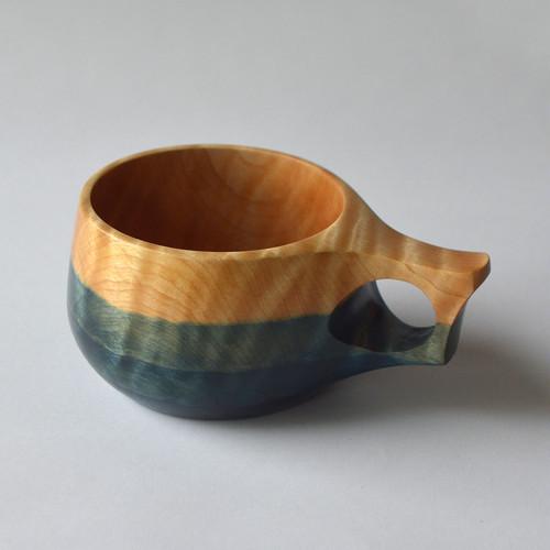 栃 藍染 TOCHI Indigo Dyed CUP -  TA07
