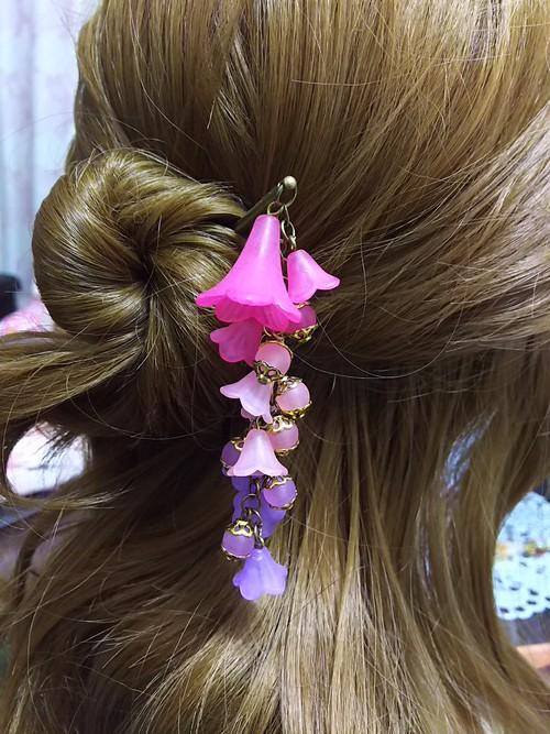 【在庫処分】枝垂れのかんざしピンク~紫【旧品】
