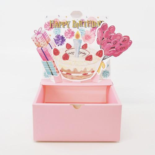 【S】誕生日祝い ポップアップボックス sweet