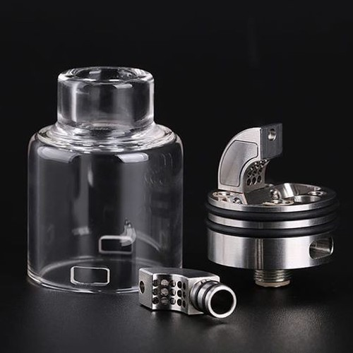 Ring Lord by Hugsvape【正規品】【送料無料】【Stainless】【27MM】【Tornado airflow】【spit-back proof】【BF Squomk PIN】【RDA】