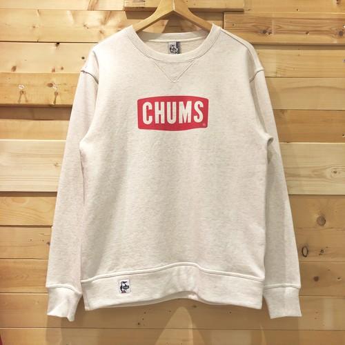 CHUMS ボートロゴ クルートップ クルースウェット 丸首 トレーナー チャムス Boat Logo Crew Top CH00-1145