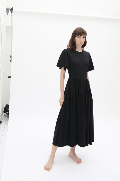 SMOOTH T-DRESS BLACK