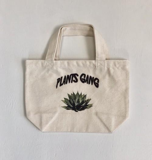 Plants Gang  mini tote bag (agave parrasana )