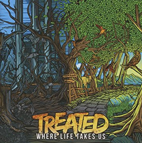【USED】TREATED / WHERE LIFE TAKES US
