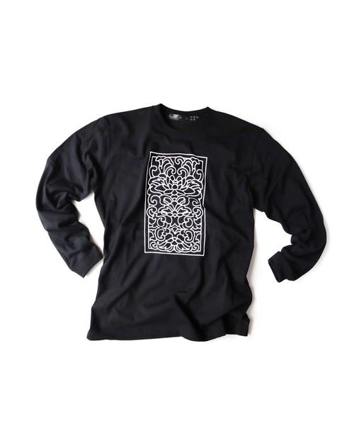 Tシャツ0号 長袖 「唐花」