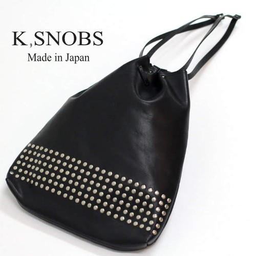String Pouch Studs 【K,SNOBS】