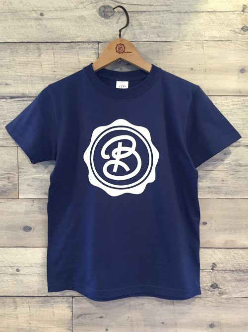 for Classics :CIRCLE LOGO / INDIGO BODY / WHITE PRINT : DBKFC-KIDS / 150-160