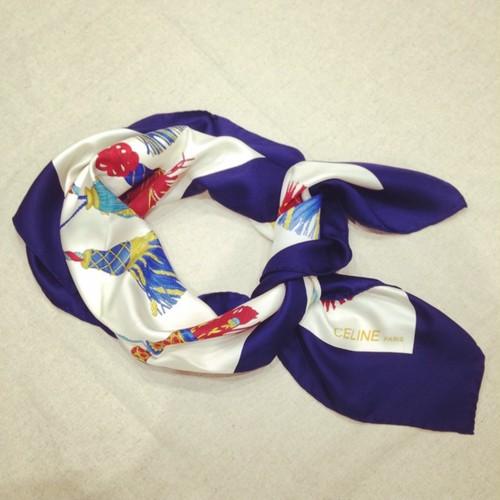 OLD CELINE スカーフ