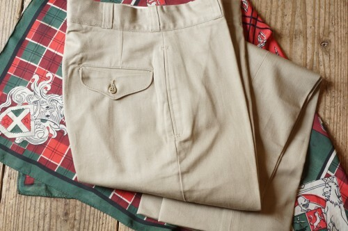 N.O.S. 70's U.S.Military khaki Trousers #A
