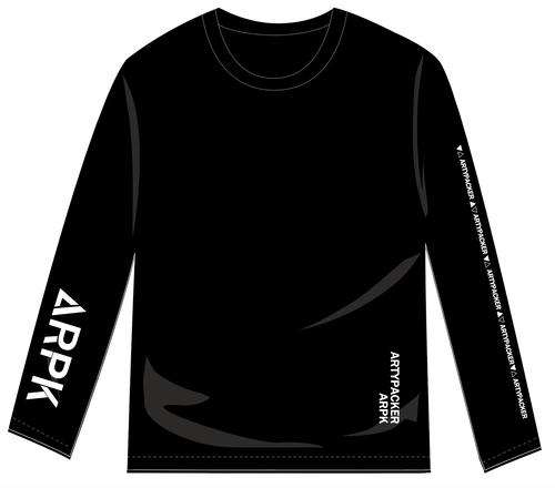 ロング間待たせてごめんTシャツ(ブラック)