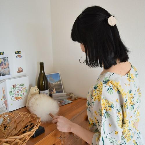 【mi woollies】羊毛ダスター