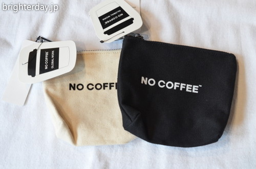 NO COFFEE × GLOBAL WORK ポーチ2個セット