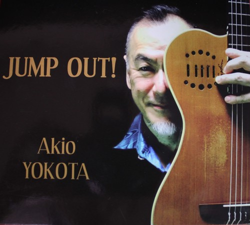 「JUMP OUT !」 Akio YOKOTA Jazz Solo Guitar CD Album No.2